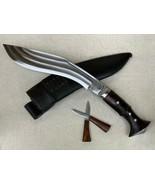 GURKHA PANAWAL TIN CHIRA 3 FULLER KHUKURI KHUKRI KUKRI KNIFE 12 INCH FUL... - $110.53