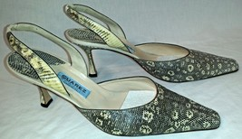 New York Heels Ring Slingbacks Suarez Lizard vdwqOv5