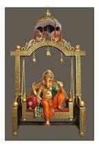 Big Chatri Jhula Ganesh /Big Chatri Jhula Radha-Krishna - £421.07 GBP
