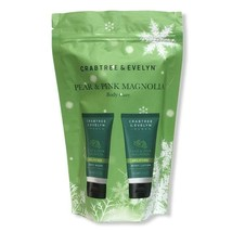 CRABTREE & EVELYN Pear & Pink Magnolia Body Care Gift Set Body Wash & Lo... - $19.79