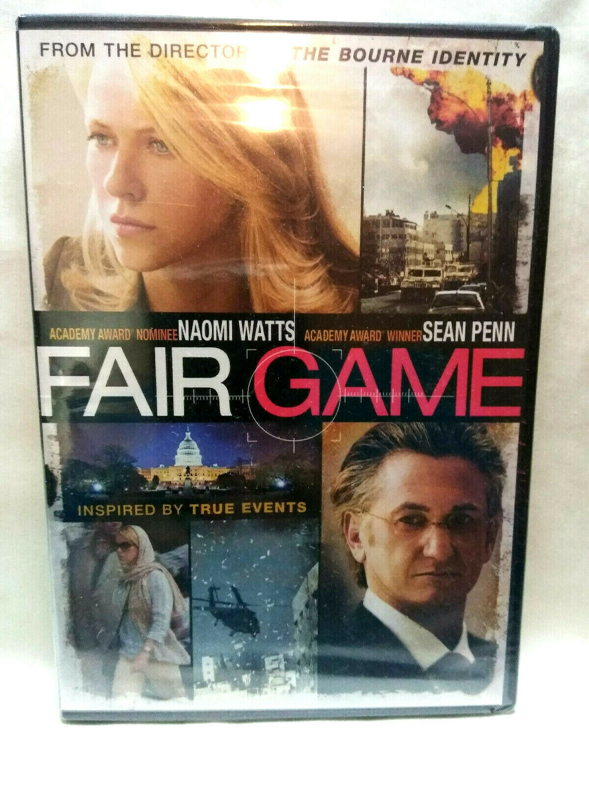 Fair Game (DVD, 2011) New Sealed Naomi Watts, Sean Penn image 2