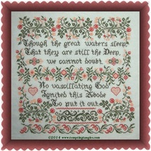 This Abode cross stitch chart Tempting Tangles - $9.45