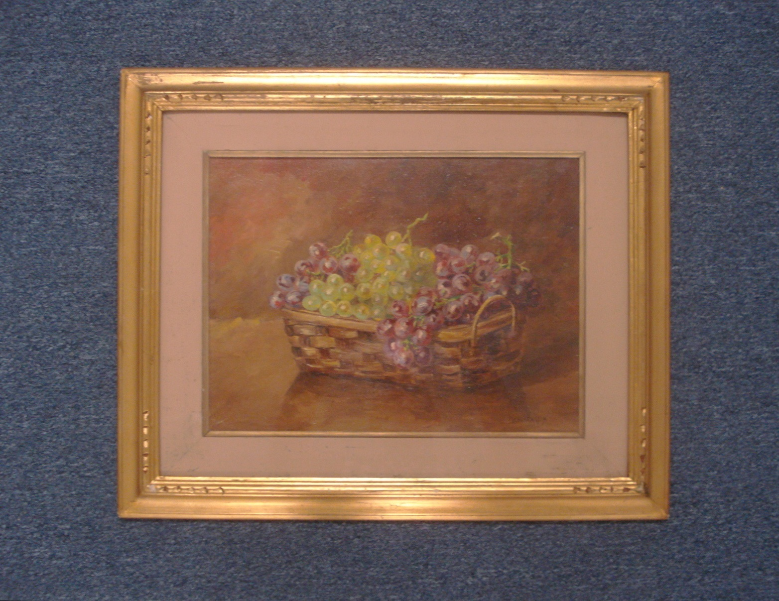 Mencaraglia Still Life Painting Oil on Wood Signed 01613