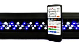 Finnex Marine 24/7 Saltwater Aquarium LED Light CMB, Controllable Reef L... - $175.39