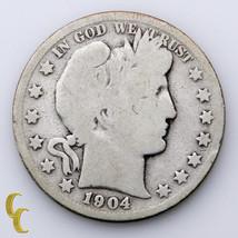 1904-S Argent Barber Demi Dollar 50c ( Ag About Bon Plus État - $61.39