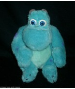 "8"" DISNEY STORE MONSTERS INC SULLEY JAMES SULLIVAN BLUE STUFFED ANIMAL P... - $14.21"