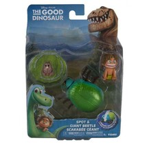 Disney Pixar The Good Dinosaur - Action Figure - Spot and Giant Beetle - L62003 - $15.35