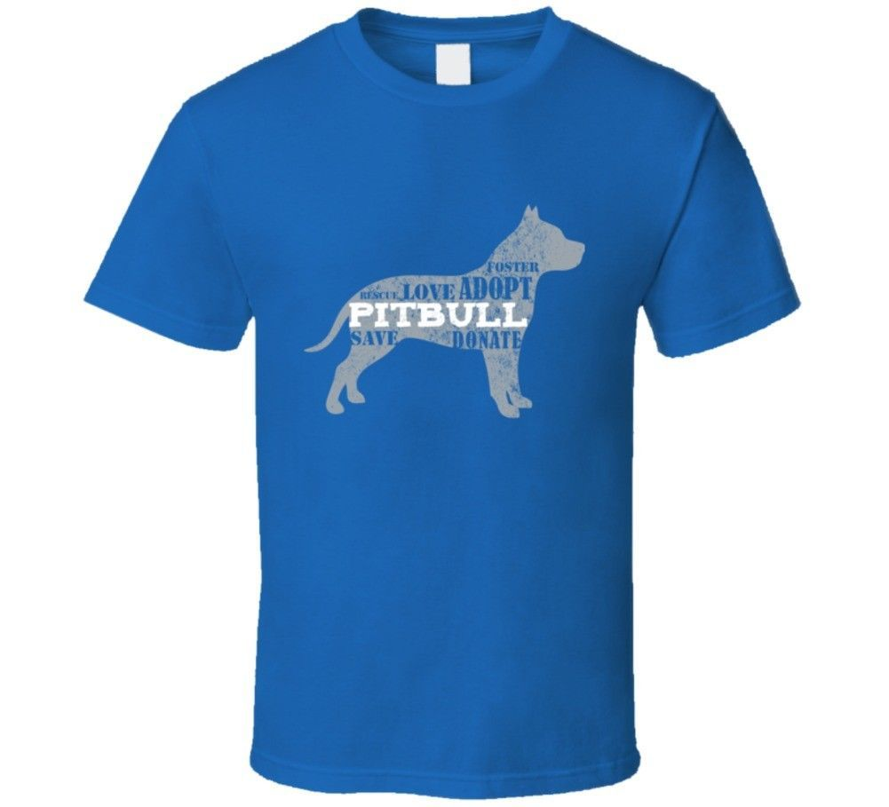 Primary image for Foster Love Adopt Save Donate Pitbull T Shirt