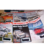 51 - - AUTOMOTIVE BACK ISSUE MAGAZINES FROM 2008 - 2013 - $17.99