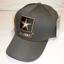 US ARMY With Army Star - U.S. Army ODG Military Hat Baseball Cap Hat - $23.95