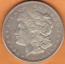 Nice 1921 D Morgan Silver Dollar - $27.00