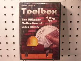 Simon Lovell's Ultimate Card Moves Toolbox 6 DVD Set - Magicians - Magic... - $25.26