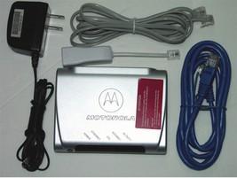 Motorola At&T Dsl Modem 2210 02 / Style Mstatea  - $15.00