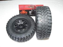 WHEELS AND TIRES REDCAT RACING MIRAGE (2) 12mm HEX DRIVE NEW 69521 - $25.99