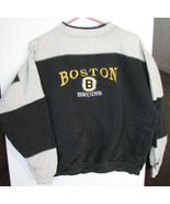 Boston Bruins Sweatshirt NHL Team Logo Adult Cr... - $8.73
