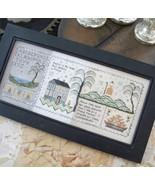 Chessie's Made Do Sampler cross stitch chart Chessie & Me   - $12.60