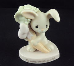 "Precious Moments, #E-9282A, ""To Some Bunny Special"", Flame Mark - $34.25"