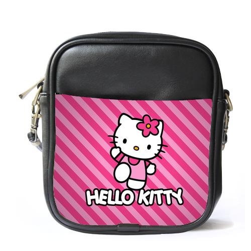 Sling Bag Leather Shoulder O Kitty Cute Funny Pink Design Cartoon Animat 14 00