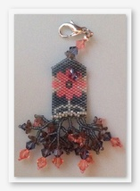 Small Secrets and Butterfly Moment Fob cross stitch kit Fern Ridge Colle... - $33.30