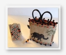 Elephants Walk Needle Roll Kit cross stitch kit by Fern Ridge Collections - $43.20
