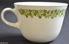 """Corning Spring Blossom Pattern Flat Cup 2.625"""" Tall Home Decor China Floral - $7.99"""