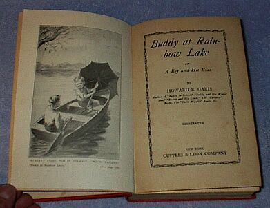 Buddy at Rainbow Lake, Howard Garis 1930 Juvenile Series Book