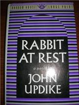 1990 RABBIT AT REST John Updike LARGE PRINT 1st ED HCDJ - $25.00