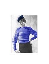 1930s Minerva Beret Hat, Sweater Blouses - 2 patterns Knit/Crochet (PDF ... - $5.75