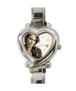 New Hot Johnny Depp Women Heart Italian Charm Watch wristwatch Gift - $8.50