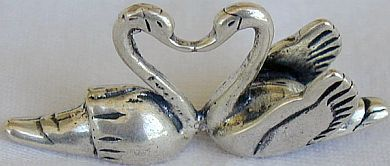 Primary image for Kissing swans