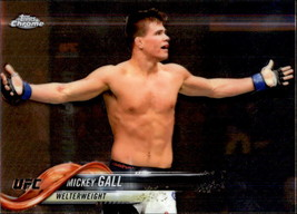Mickey Gall 2018 Topps Chrome UFC Card #11 - $0.99