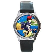 Hot New Cute Kiki's Delivery Service Manga Anime Leather Watch wristwatch - $12.00