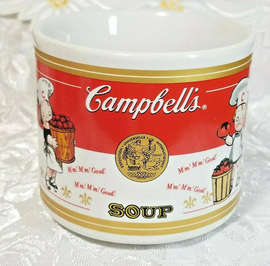 Houston Harvest Campbell's 40 Year Anniversary Soup Mug Bowl 10 oz 2001