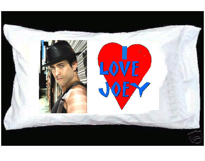 I LOVE JOEY McINTYRE New Kids on the Block PILLOWCASE