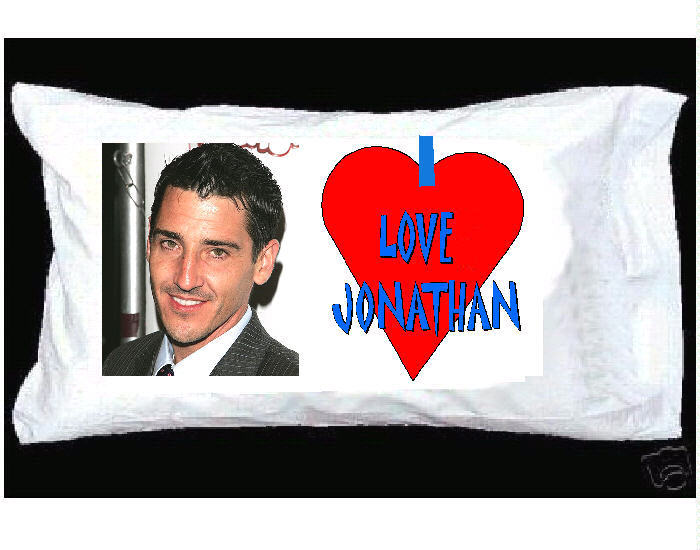 I LOVE JONATHAN KNIGHT New Kids on the Block PILLOWCASE