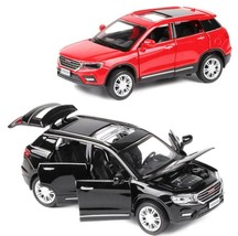 2018 Haval Honor H6 SUV 1:32 Alloy Pull Back Car Model Open Doors Sound ... - $32.49
