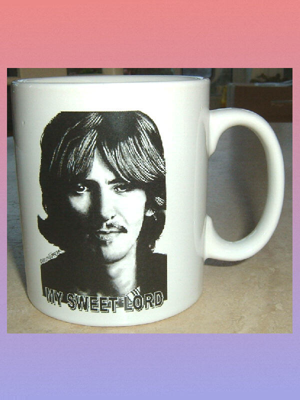 GEORGE HARRISON My Sweet Lord CERAMIC MUG The Beatles
