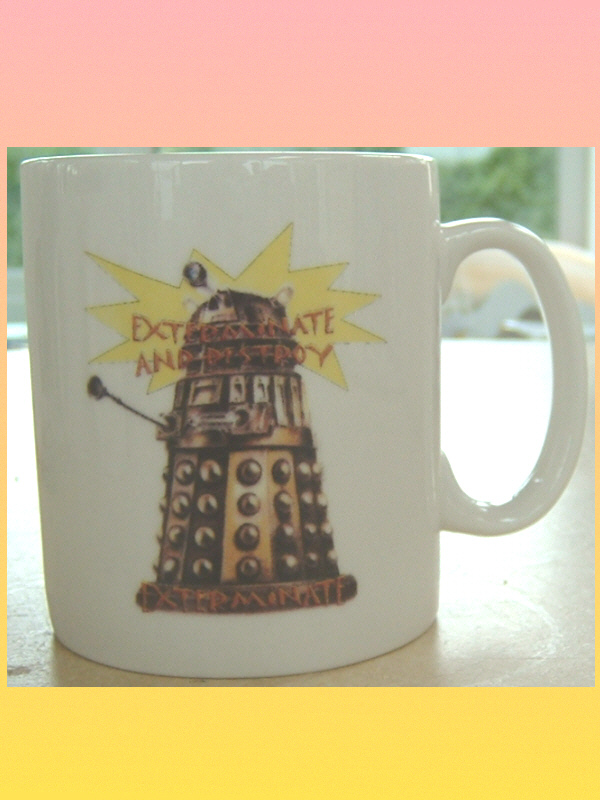 DOCTOR WHO Dalek CERAMIC MUG