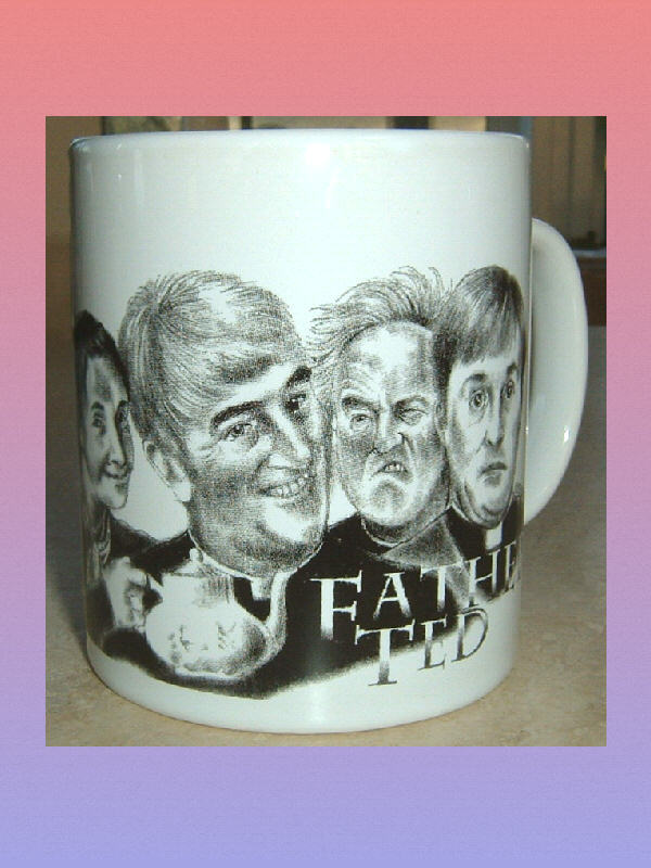 FATHER TED British Television Comedy CERAMIC MUG Ireland