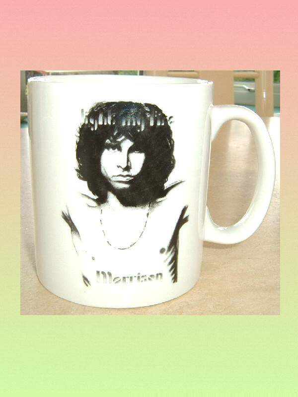 JIM MORRISON CERAMIC MUG The Doors