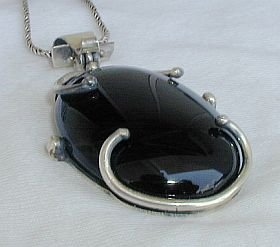 Beautiful onyx pendant