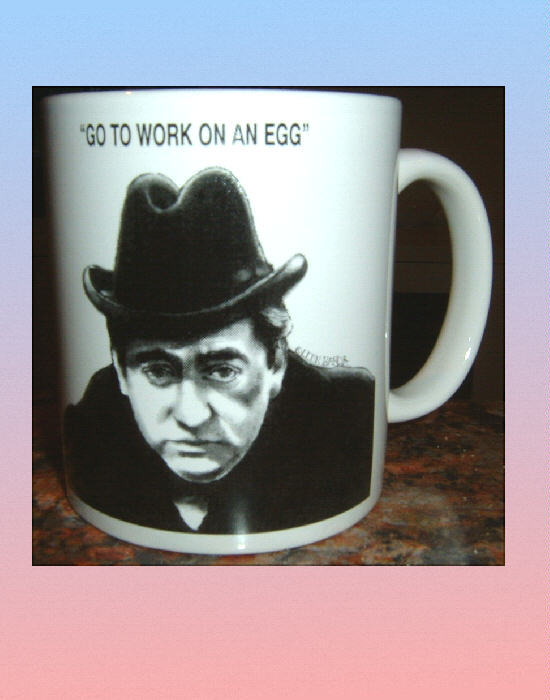 TONY HANCOCK CERAMIC MUG British Television Comedy