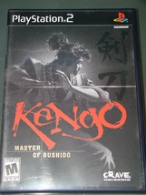 Playstation 2 - Kengo MASTER OF BUSHIDO (Complete with Instructions) - $12.00