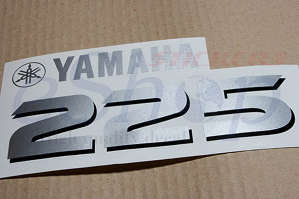 Yamaha outboard 4 four stroke 225 or 200 250 and 50 for Yamaha boat decals graphics
