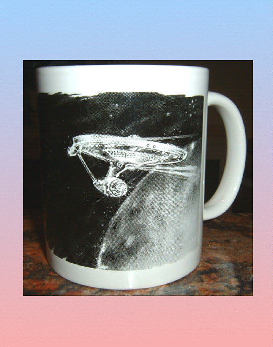 STAR TREK The Enterprise CERAMIC MUG