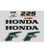Honda outboard 4 Four Stroke 225 Hp decals stickers set kit also avail 9... - $79.00