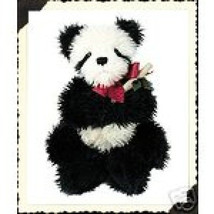 "Boyds Bears ""Chopsticks""- 13"" Panda Bear  #512007- NWT -2001- Retired - $24.99"