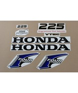 Honda outboard Four Stroke 225 Hp decals stickers set kit BLUE OR 90 to ... - $79.00
