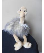 """Gund DAZZLING Ostrich Plush Stuffed Animal 31060 Beige Brown Blue Eyes SOFT 19"""" - $22.49"""