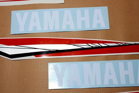 Yamaha outboard 2 two stroke 150 or 175 200 hp decals for Yamaha boat decals graphics